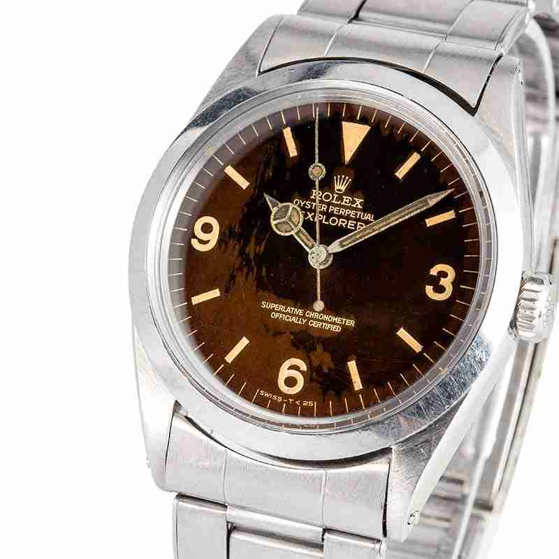 image of the rolex explorer 1016