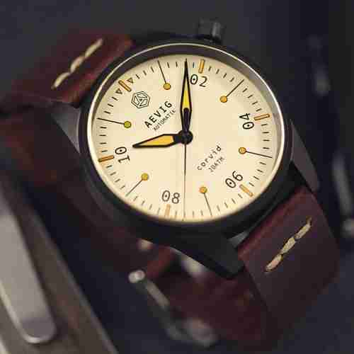 Best Microbrand Watches Aevig Corvid