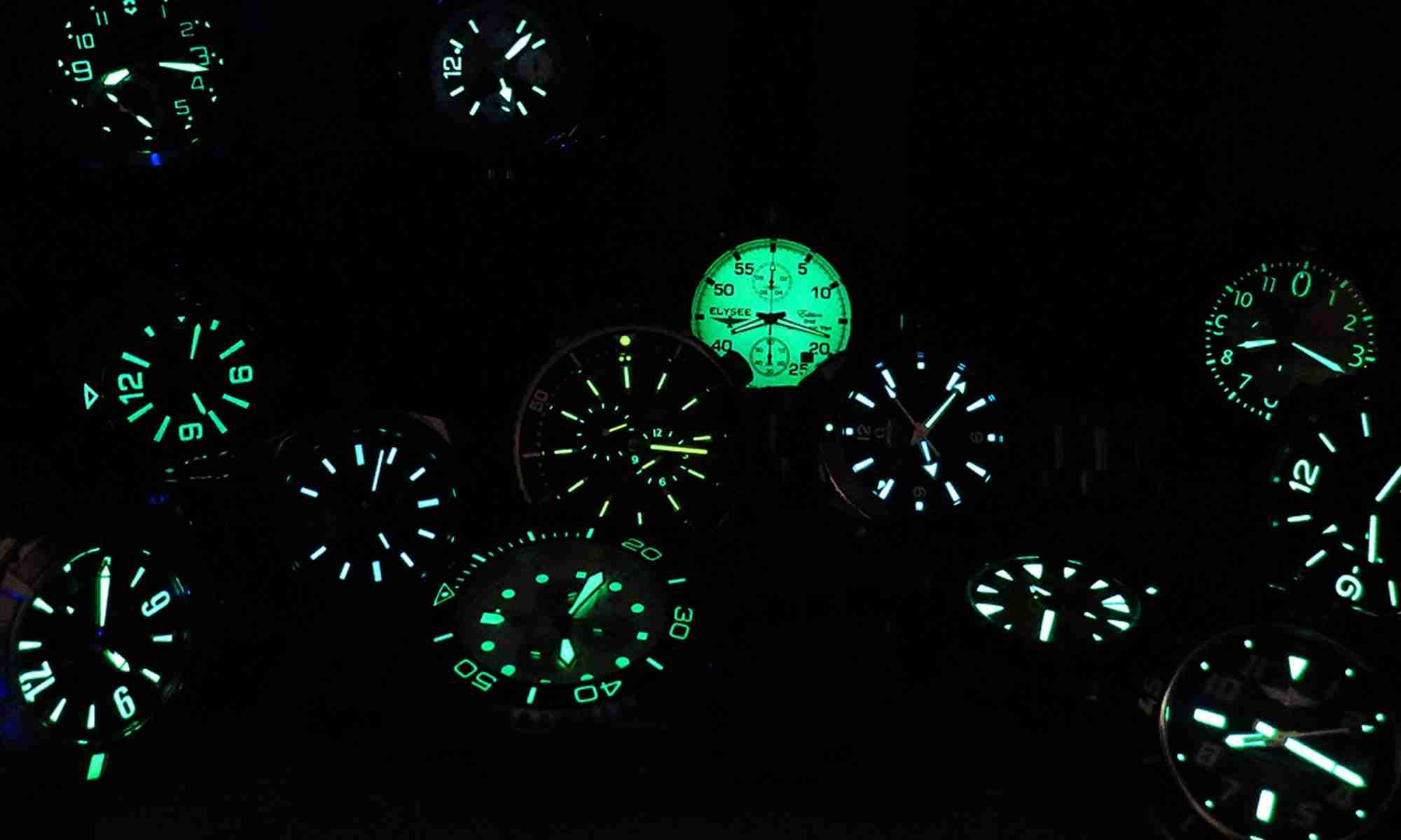 Best glow in the dark watches