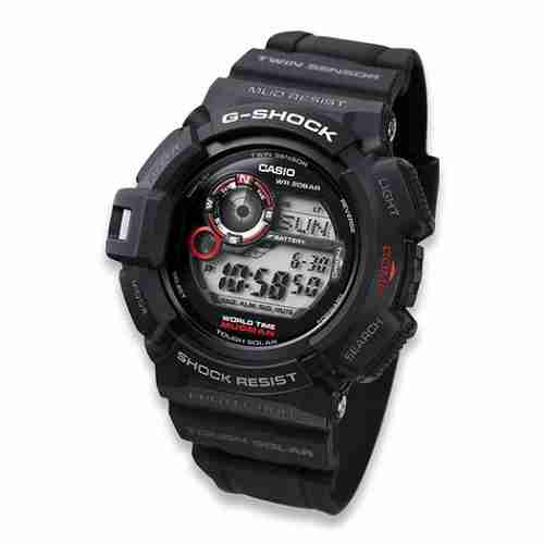 Casio G-Shock Mudman Display