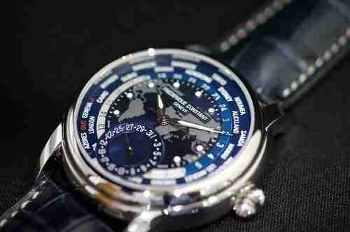 Fredrique Constant Worldtimer Review Dial