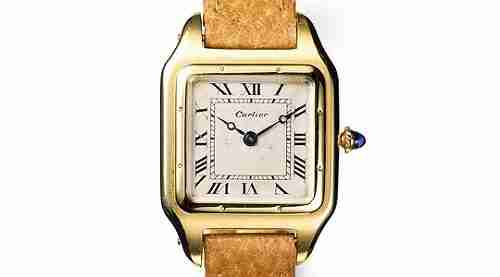 History of Watches - Cartier Santos