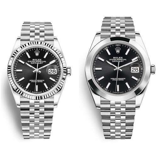 Rolex Datejust 36 vs 41