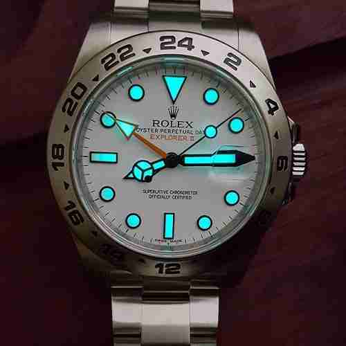 Rolex Explorer 2 Review Chromalight