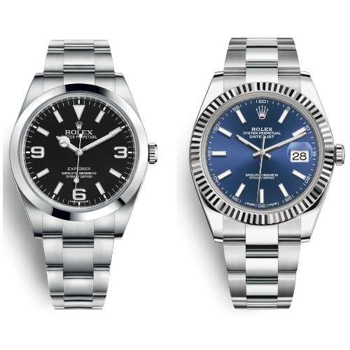 Rolex Explorer vs Datejust