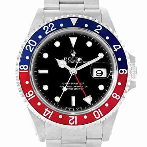 image of the red and blue Rolex GMT Master