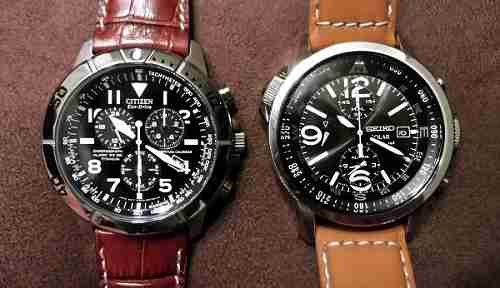 Seiko Solar vs Citizen Eco Drive Matchup