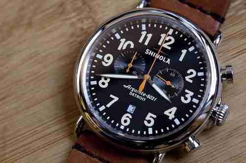 shinola runwell watch review