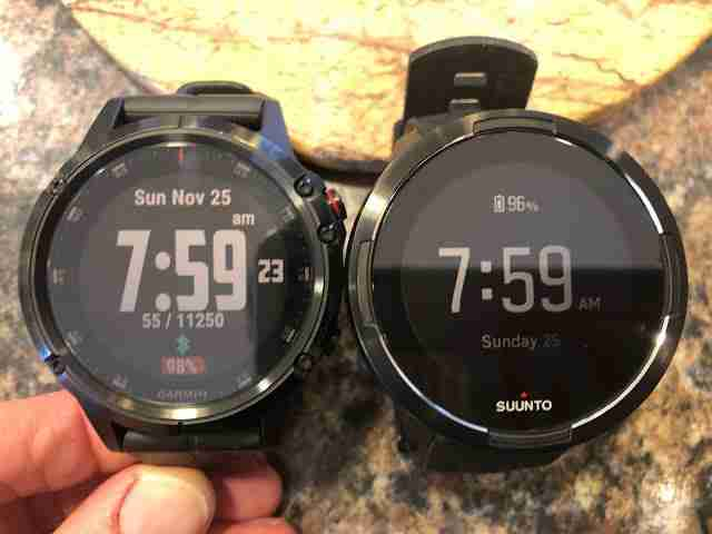 In-depth comparison of Suunto 9 VS Fenix 5 Plus