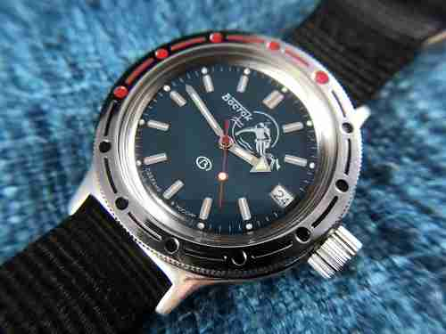 Vostok Watches Review Amphibia Model