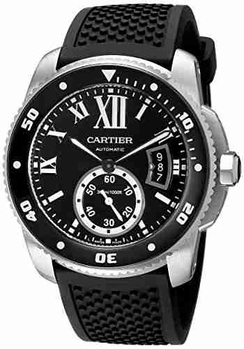 cartier men's w710056 dive watch