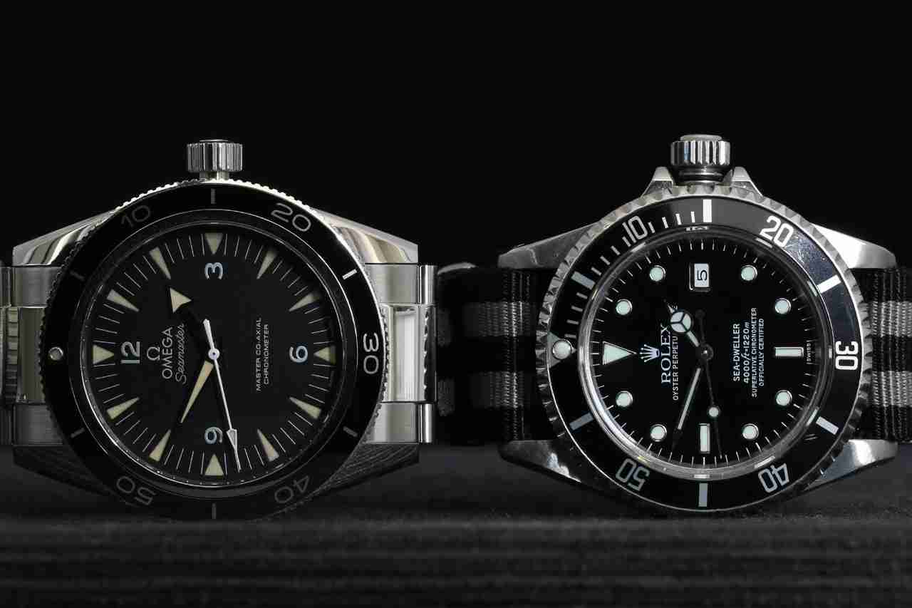 Omega Seamaster 300 vs Rolex submariner